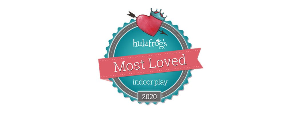 Bonkers wins hulafrog's Most Loved Indoor Play Center in 2020