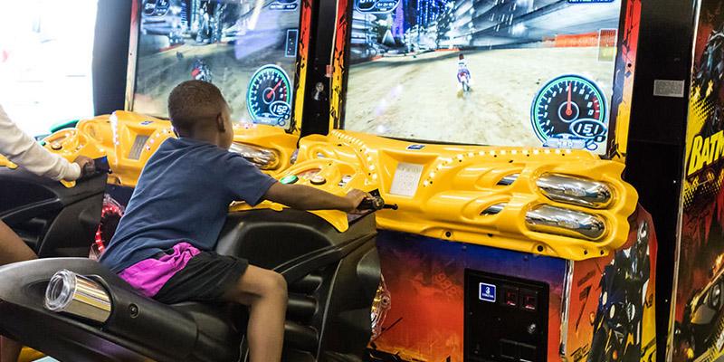 Play racing games at Waldameer