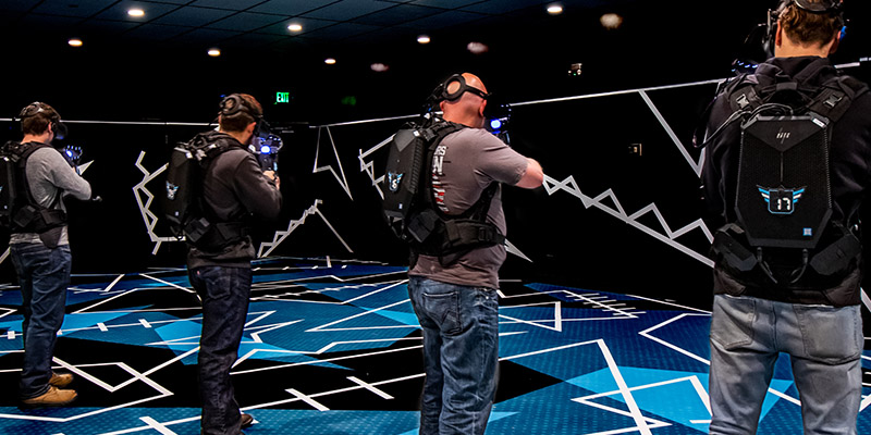Free Roam VR at Max Action Arena