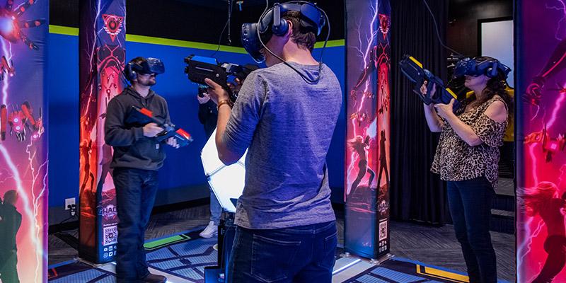 Play VR at Max Action Arena at Grand Sierra Resort