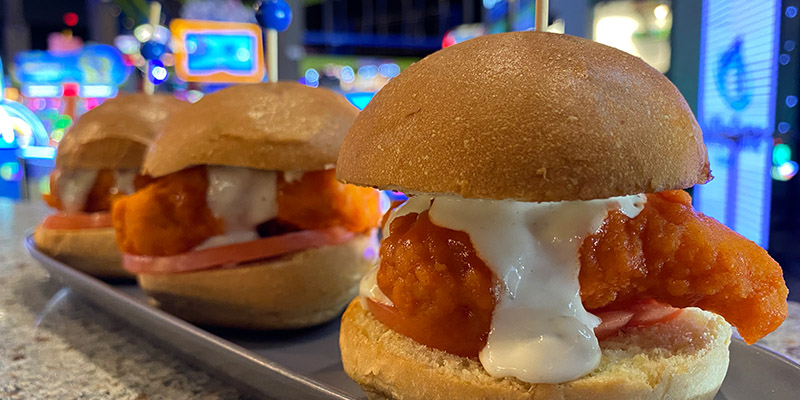 We've taken buffalo chicken sliders to the next level